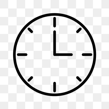 Clock Icon PNG Images.