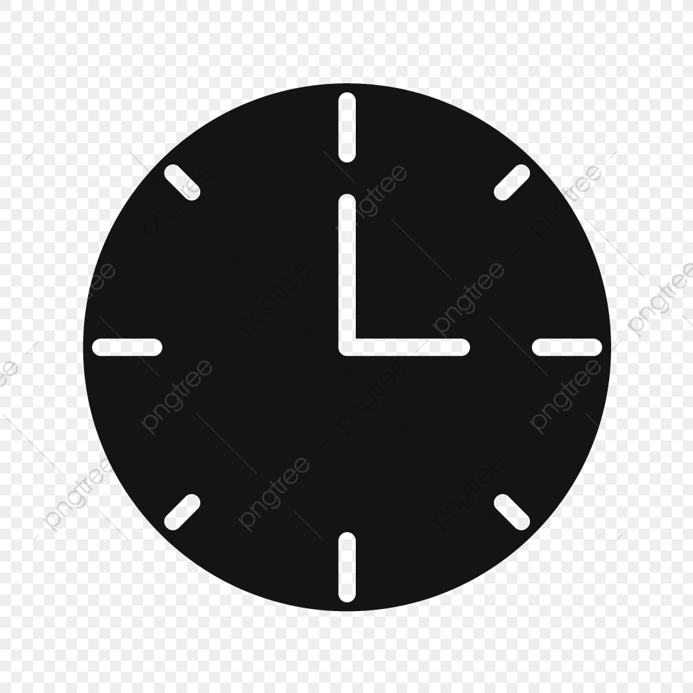 Clock Vector Icon, Clock Icon, Time Icon, Count Down Icon PNG and.