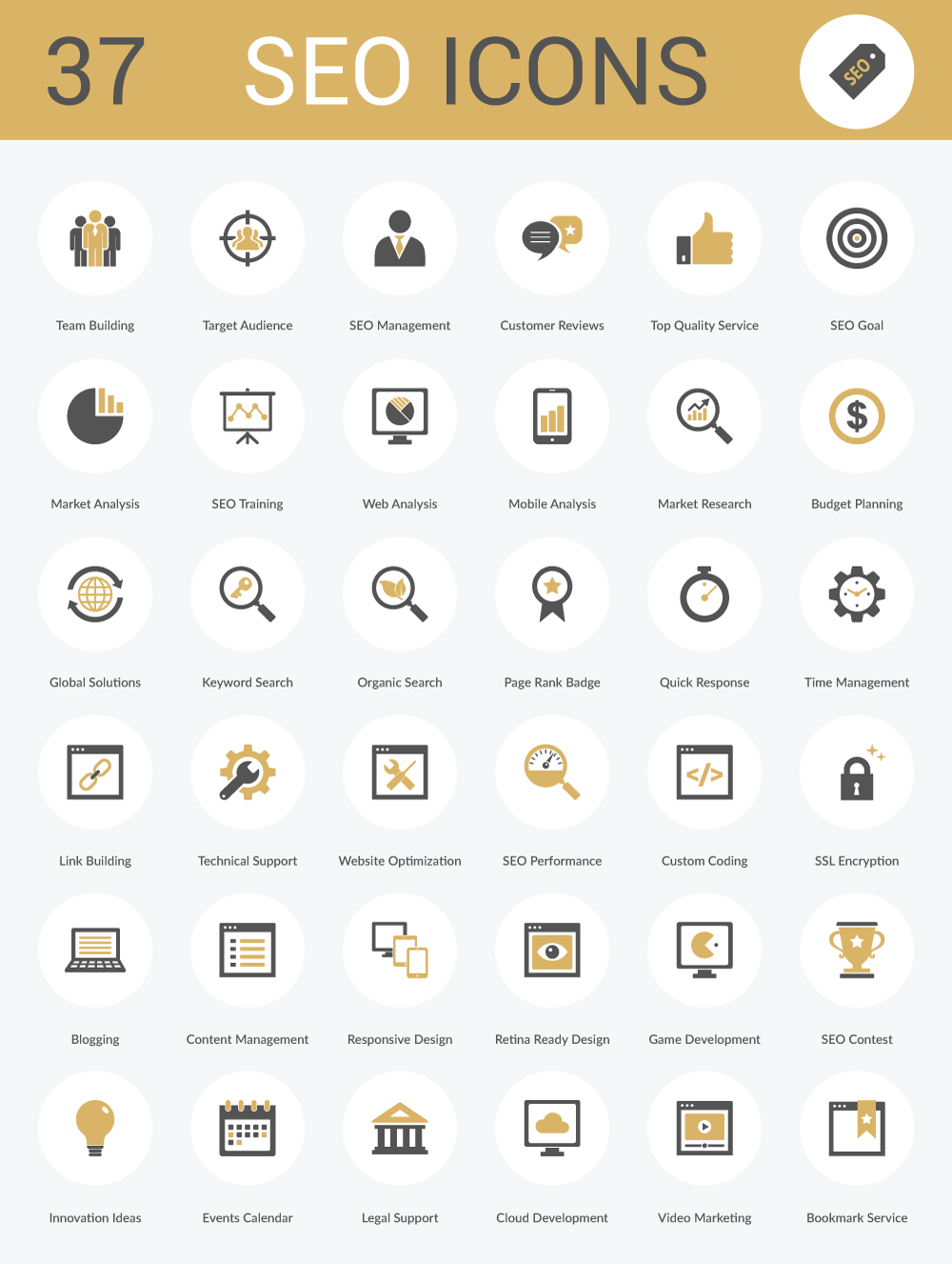 37 Free SEO Icons (AI, EPS, SVG and PNG).