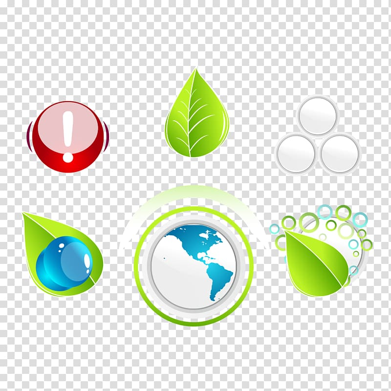 Symbol Logo Icon, Energy and Environmental Protection.