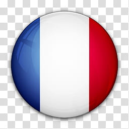 World Flag Icons, France flag icon transparent background.