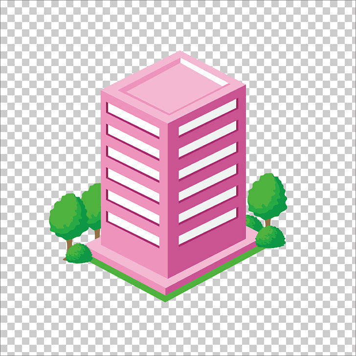 Building Icon, Flat Building PNG clipart.