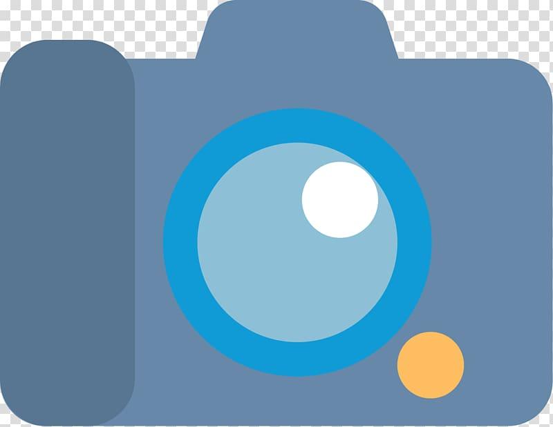 Camera Flat design Video Icon, Flat digital camera Icon.