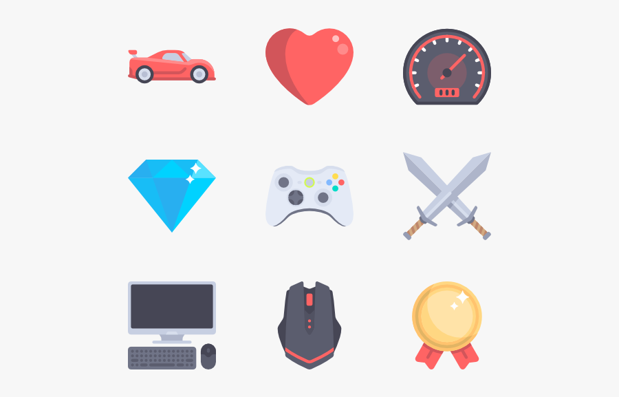 Gaming Clipart Game Icon.