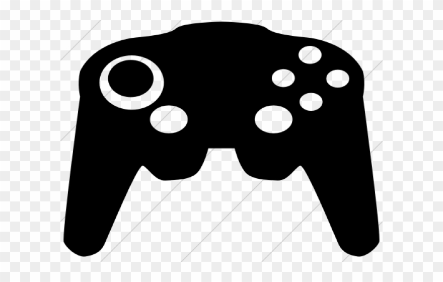 Controller Clipart Retro Game.