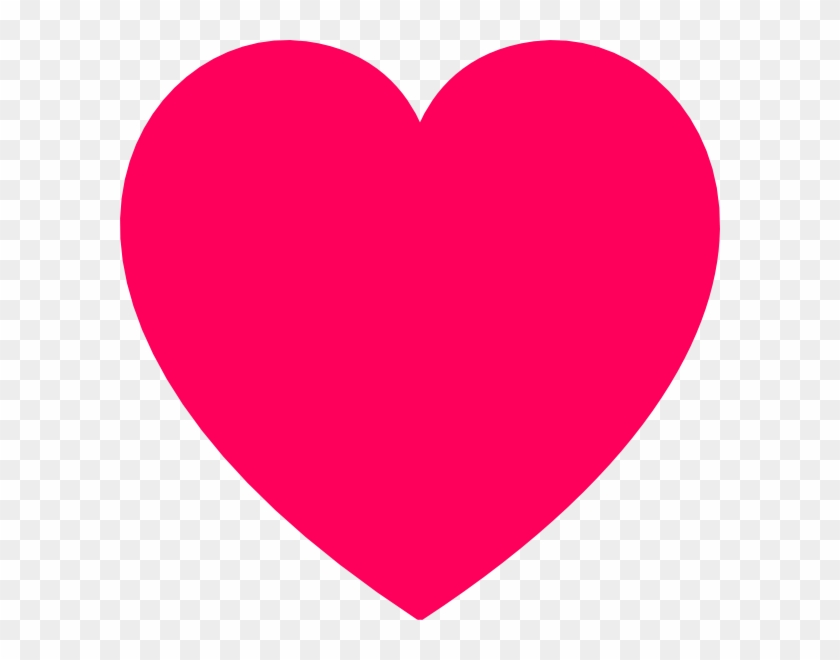 Pink Heart Icon Png Transparent.