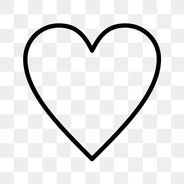 Heart Icon PNG Images.