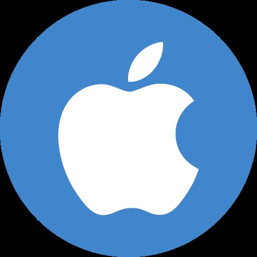 Apple, ios icon.