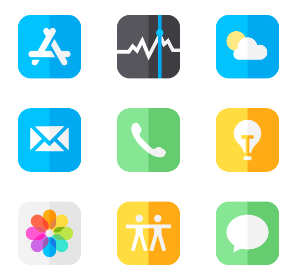 92 iphone icon packs.