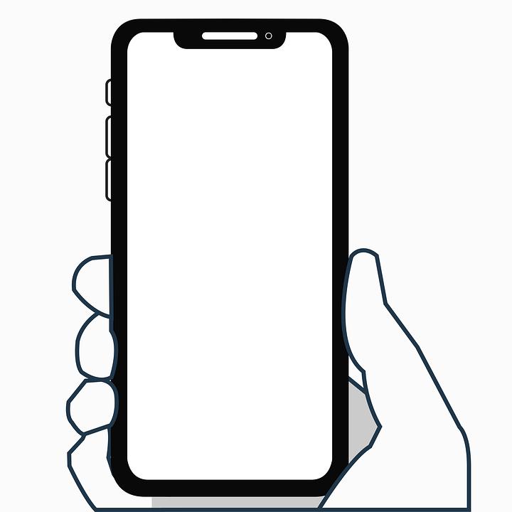 Iphone X Icon Flat.