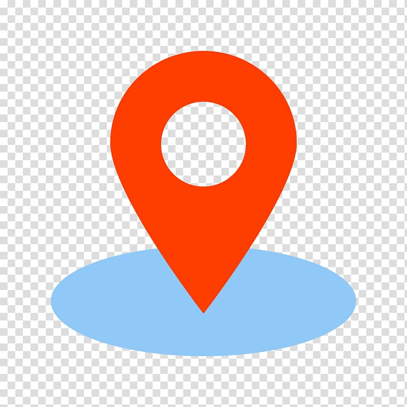 Red location icon, Renter Needs Computer Icons GPS.