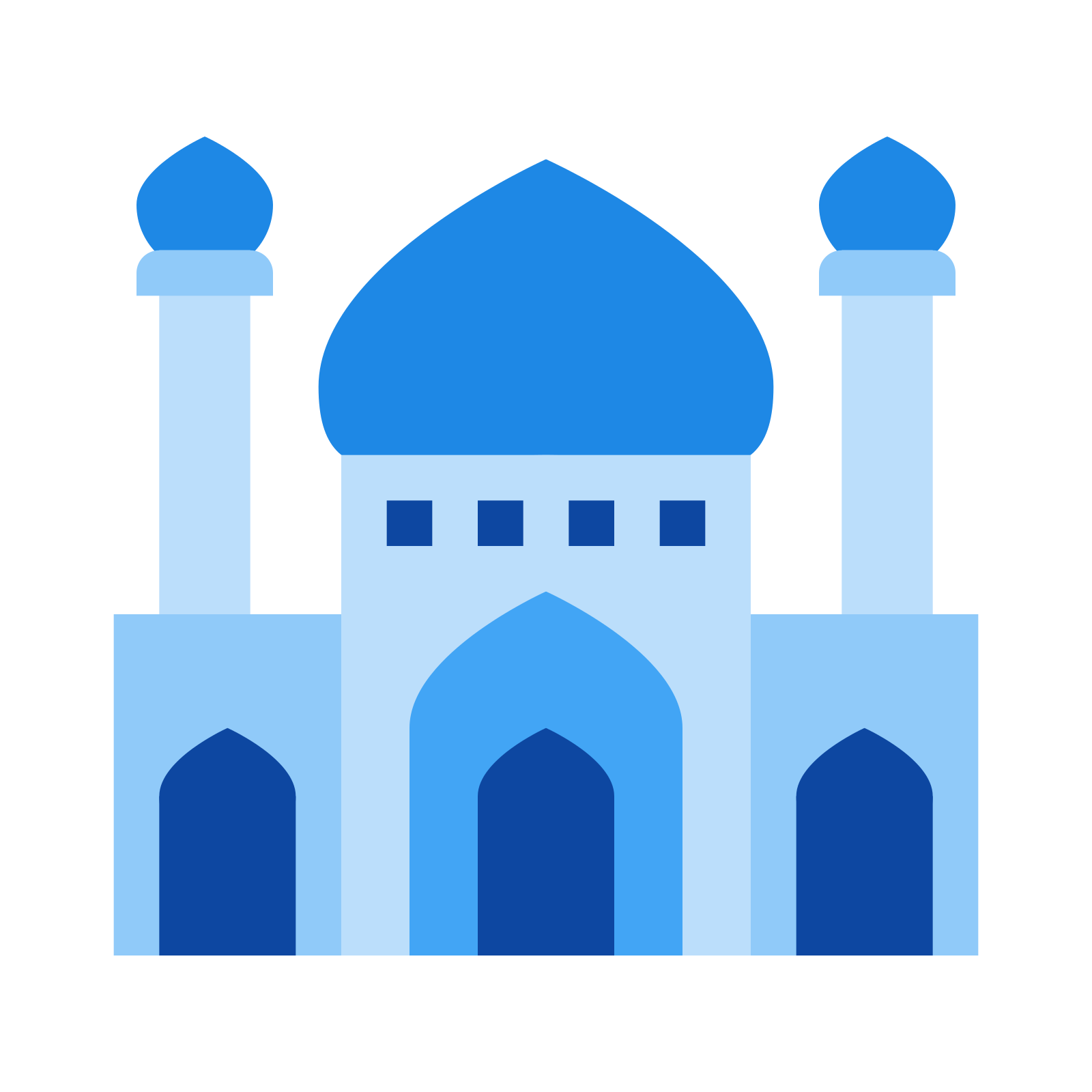 Mosque clipart icon, Mosque icon Transparent FREE for.