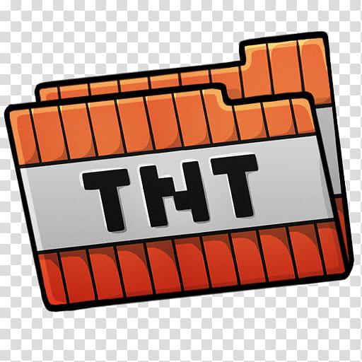 MineCraft Icon , folder tnt, TNT logo transparent background.
