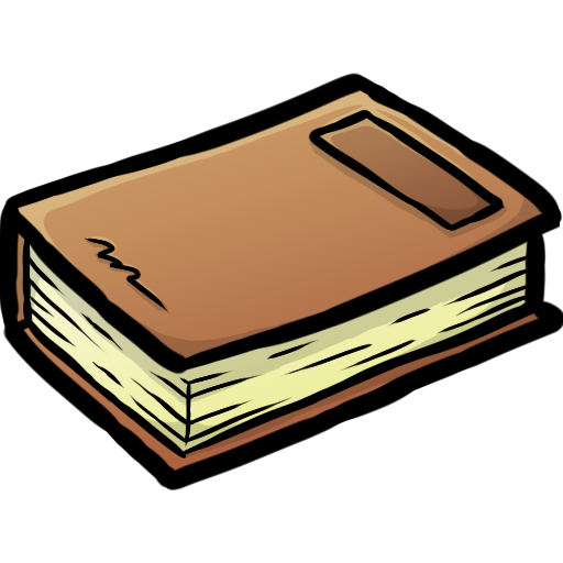 Minecraft Book Icon, PNG ClipArt Image.