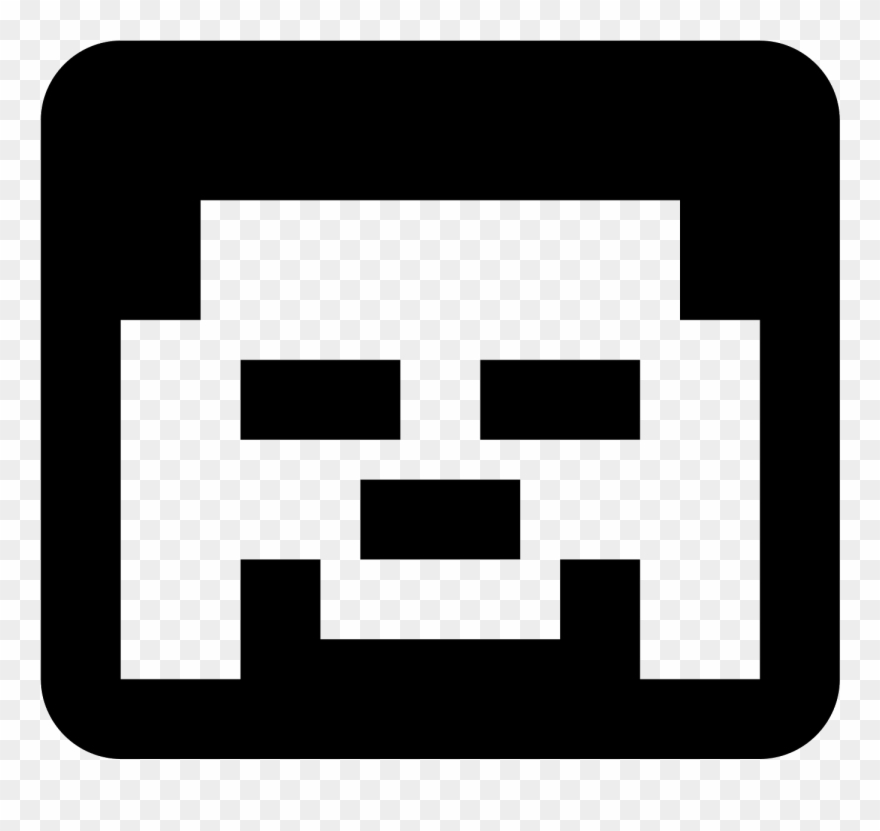 Minecraft Main Character Icon.