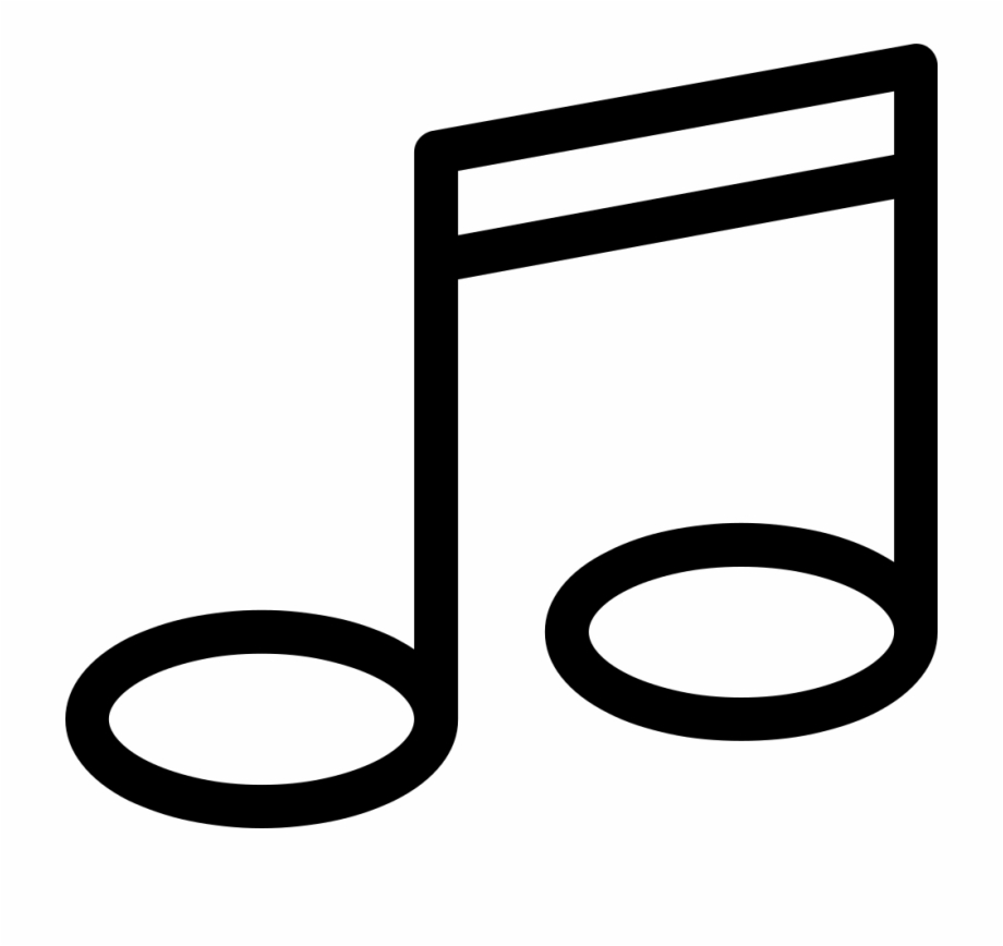 Music Note Png Icon Music Line Icon Png.