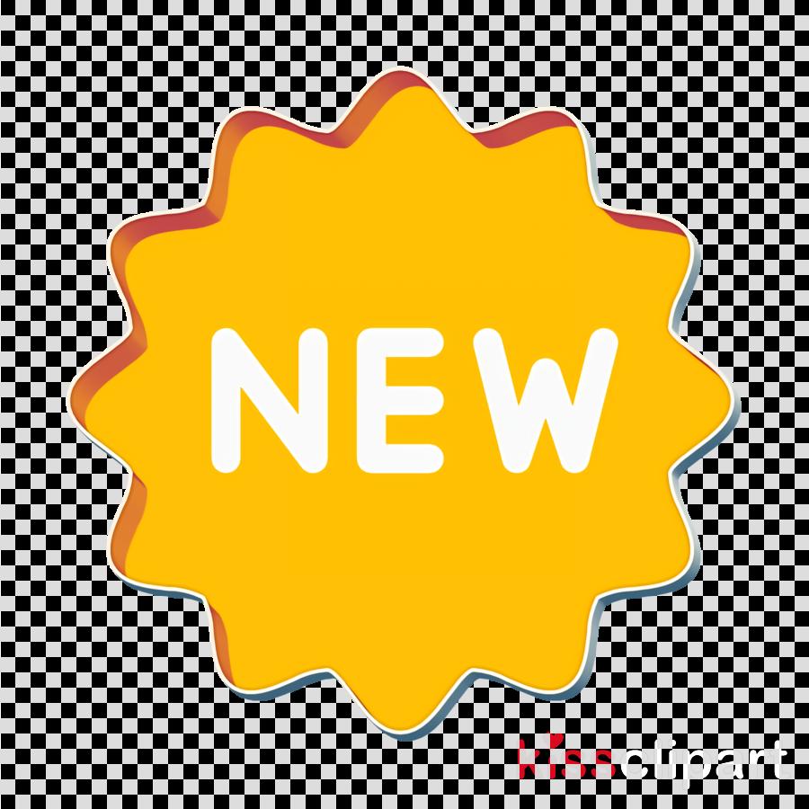 New icon Shopping icon clipart.