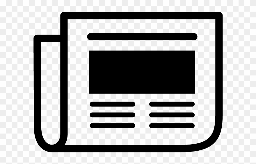Newspaper clipart icon, Newspaper icon Transparent FREE for.