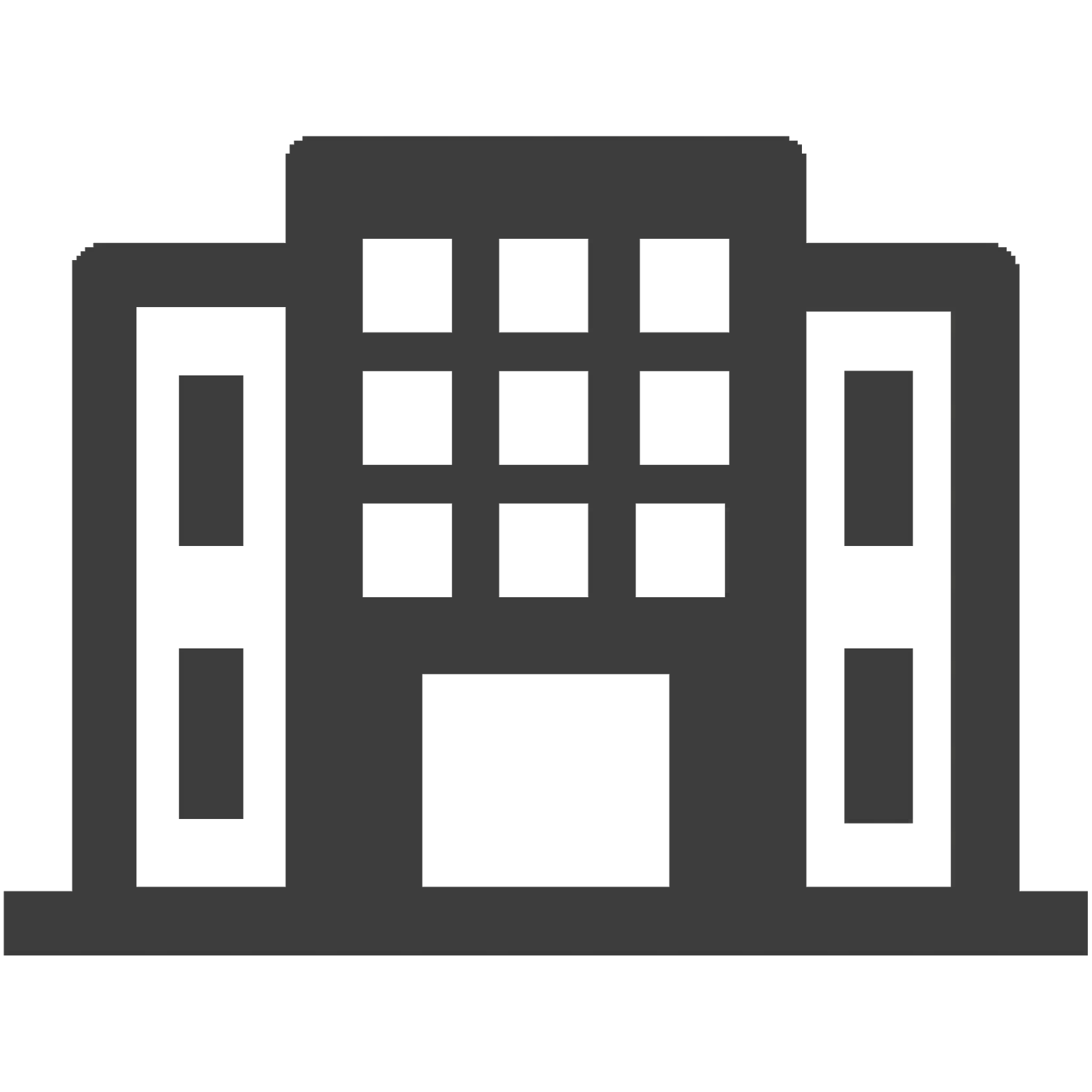 Building, company, office icon in png file.