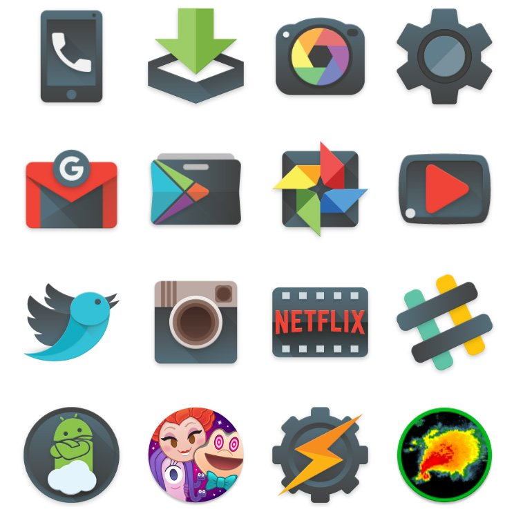 Best icon packs for Android in 2019.
