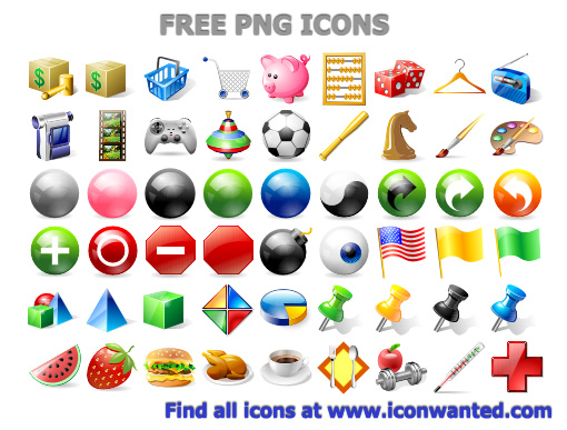 Free PNG Icons by Ikonod on DeviantArt.
