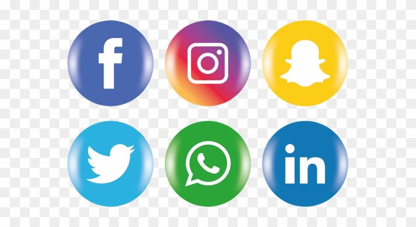 Social Media Icons Set Icon Png E.