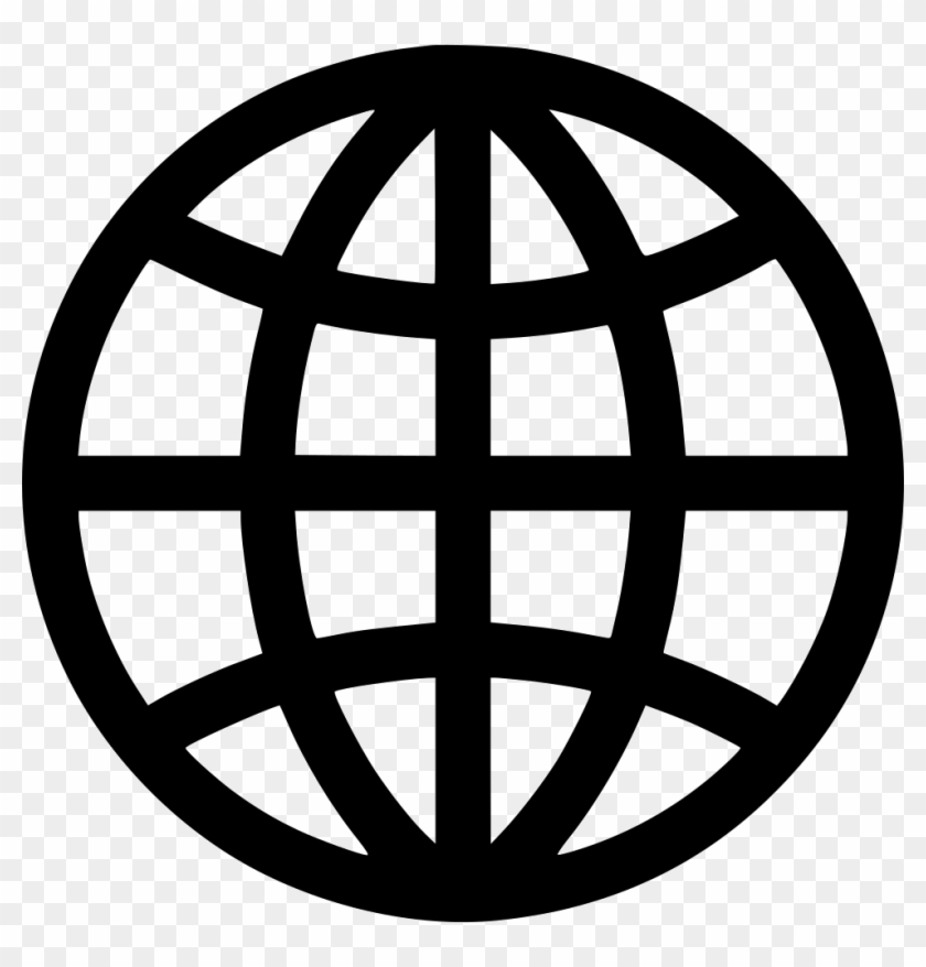 Web Globe Icon Png, Transparent Png.