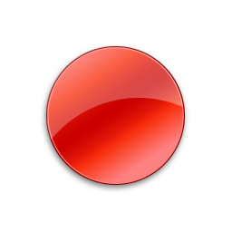 Record Normal Red Icon.