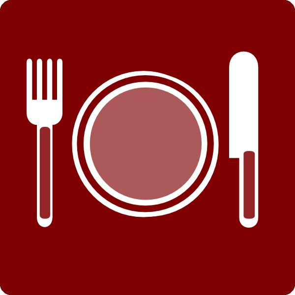 Restaurant Icon clipart.