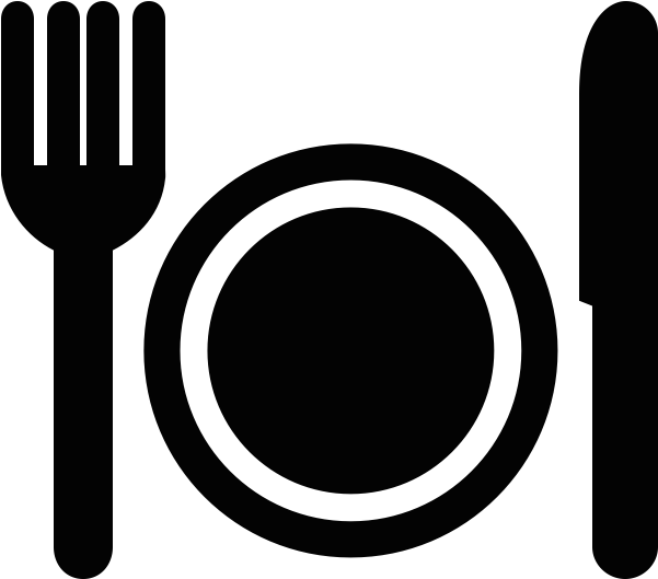 Fork And Plate Icon.