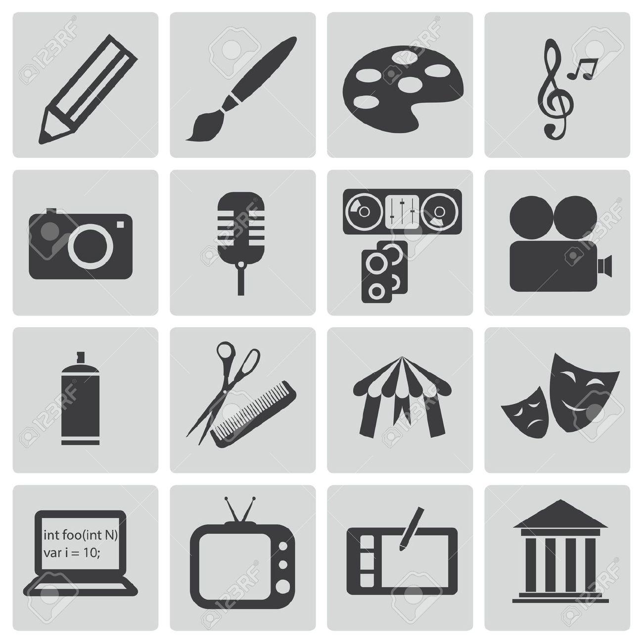 Clipart icon vector.
