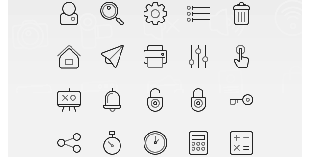 14 Absolutely Free Icon Sets.