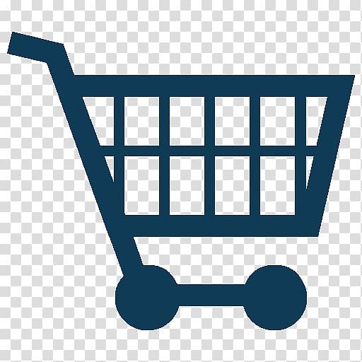 Blue shopping cart icon, Shopping cart Online shopping i.