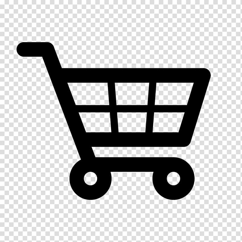 Shopping cart Icon, Shopping cart transparent background PNG.