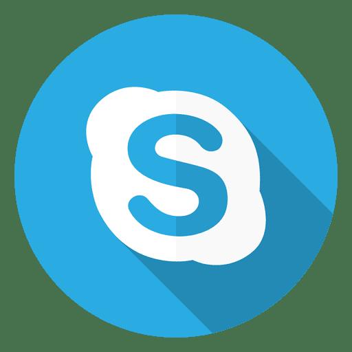 Skype icon logo.