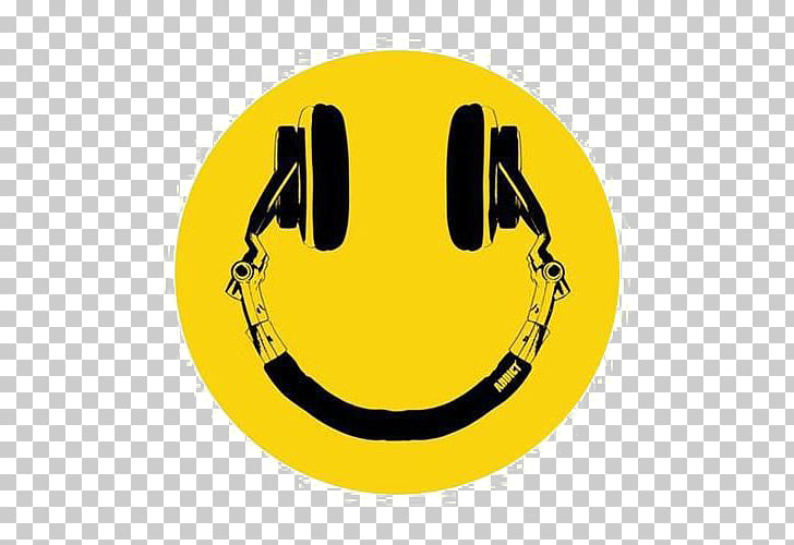 Smiley Emoticon Music Disc jockey Icon, Smile PNG clipart.