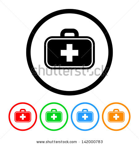 Healthcare Icons Stock Images, Royalty.