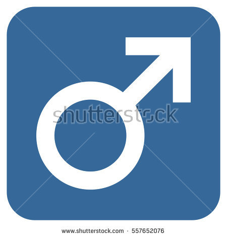 Male Symbol Stock Images, Royalty.