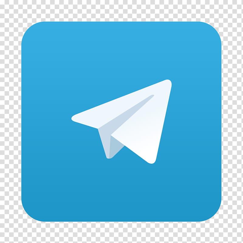 MacOS App Icons, telegram transparent background PNG clipart.