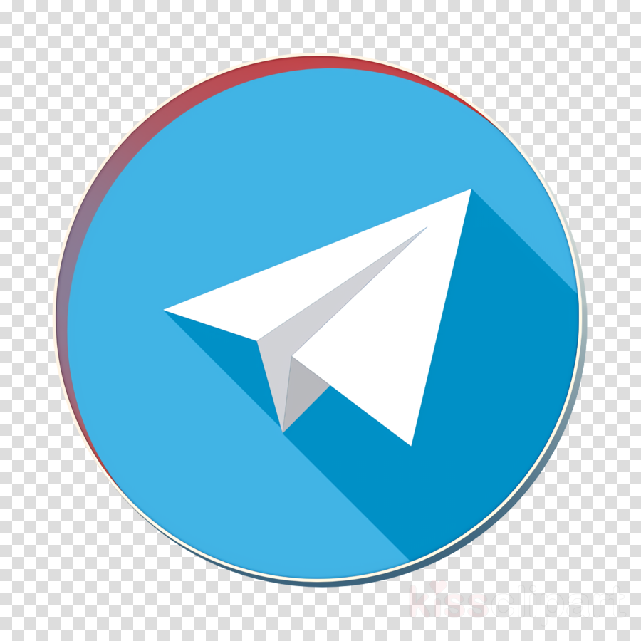 Messenger icon Telegram icon clipart.
