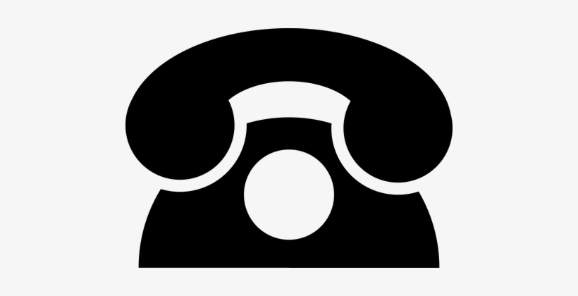 Analog Communication Icon Phone Telephone.