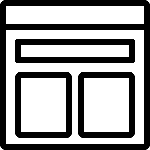 Data Template Icon.
