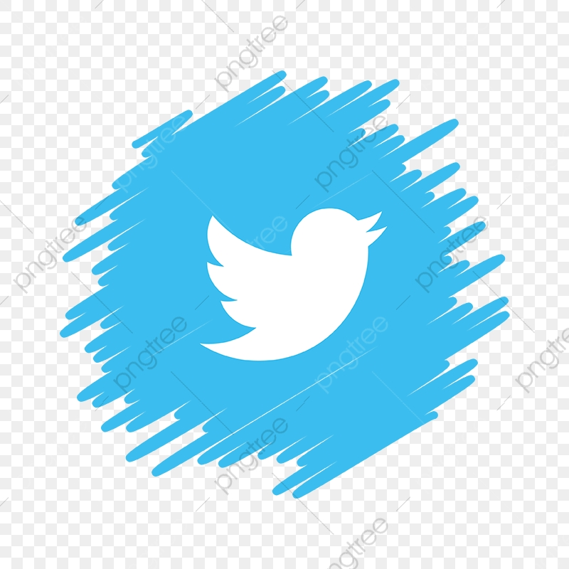 Twitter Social Media Icon, Twitter, Twitter Vector, Twitter Icon PNG.