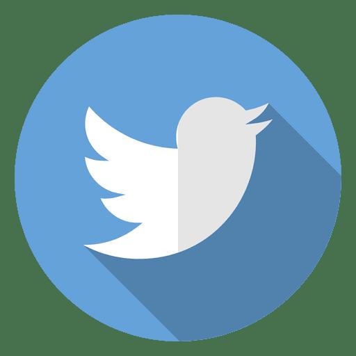 Twitter icon logo.
