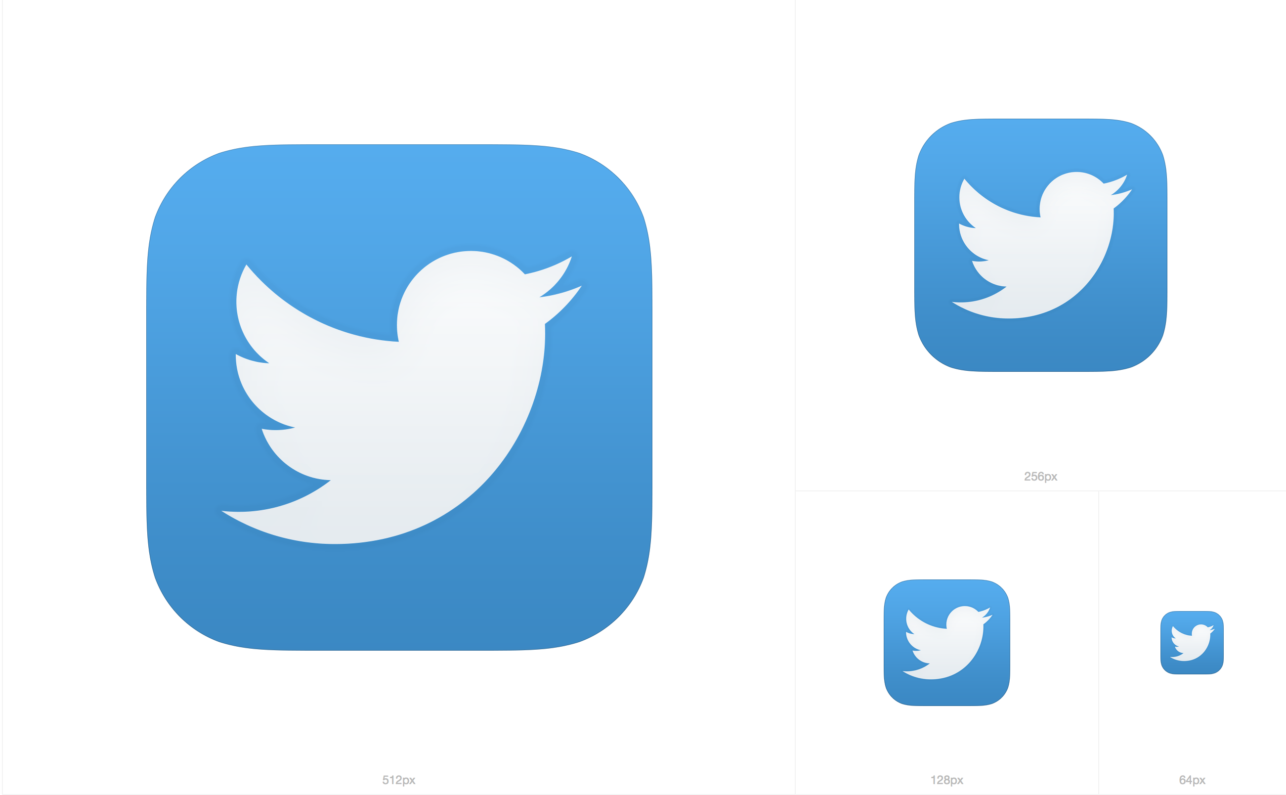 Twitter App Icon Png #103604.