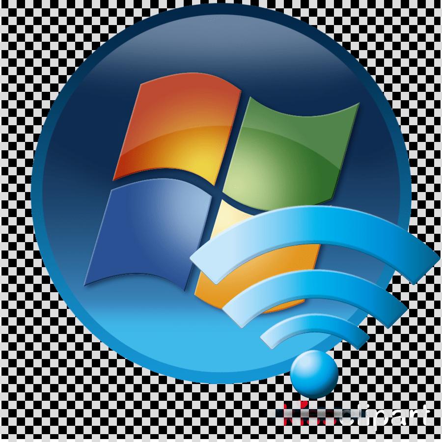 Windows 7 Start Icon clipart.