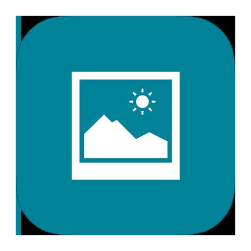 MetroUI Apps Windows8 Photos Icon.