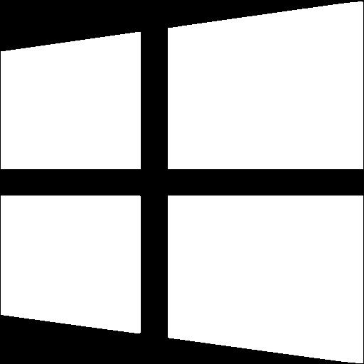 White os windows8 icon.