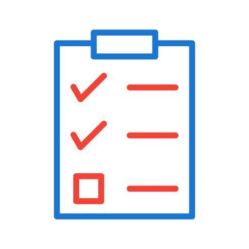 Checklist Icon Design.