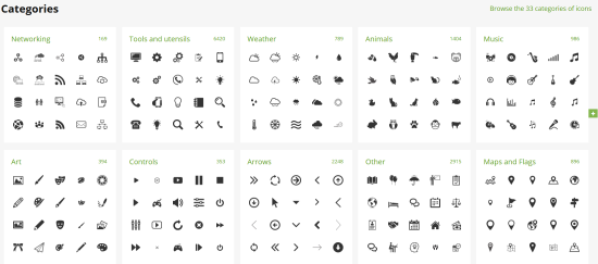 Flaticon, plus de 50 000 icônes libres de droits.